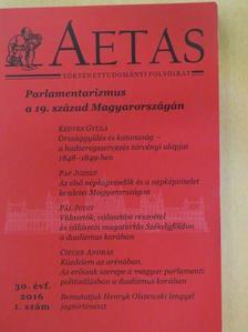 Antos Balázs - Aetas 2016/1. [antikvár]