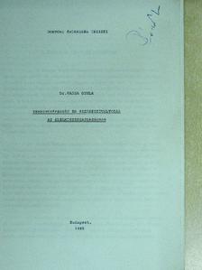 Dr. Varga Gyula - Versenyképesség és szerkezetváltozás az élelmiszergazdaságban [antikvár]