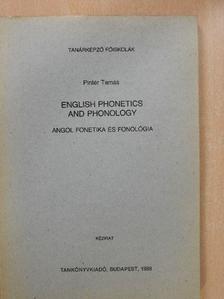 Pintér Tamás - English Phonetics and Phonology [antikvár]
