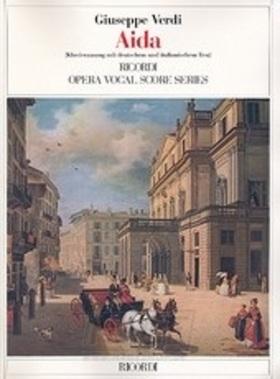Verdi - AIDA PER CANTO E PIANOFORTE (NÉMET, OLASZ)