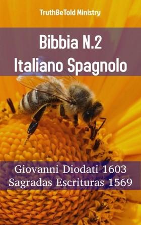 TruthBeTold Ministry, Joern Andre Halseth, Giovanni Diodati - Bibbia N.2 Italiano Spagnolo [eKönyv: epub, mobi]