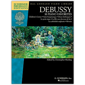 DEBUSSY 16 PIANO FAVOURITES
