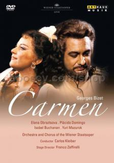 Bizet - CARMEN DVD (LIVE) OBRAZTSOVA, DOMINGO, KLLEIBER