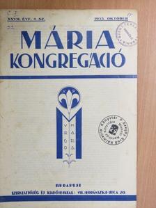 Dr. Molnár Gyula - Mária Kongregáció 1933. október [antikvár]