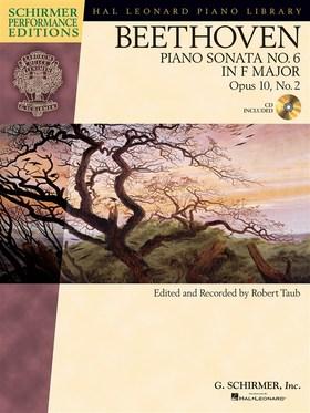 BEETHOVEN - PIANO SONATA NO.6 IN F MAJOR OP.10, NO.2, CD INCLUDED