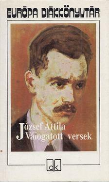 JÓZSEF ATTILA - József Attila válogatott versei [antikvár]