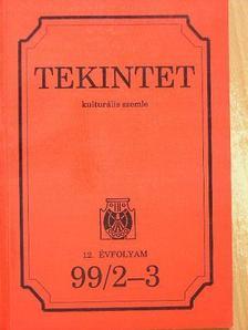Bánlaky Pál - Tekintet 99/2-3. [antikvár]