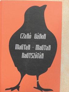 Czakó Gábor - Magyar-magyar nagyszótár [antikvár]