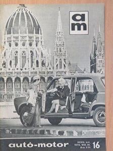 Lelkes Mihály - Autó-Motor 1974. augusztus 21. [antikvár]