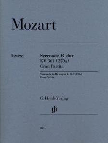 MOZART, W,A, - SERENADE B-DUR KV 361 (370a) GRAN PARTITA (15 INSTR.) URTEXT, STIMMEN