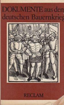 Lenk, Werner - Dokumente aus dem deutschen Bauernkrieg [antikvár]
