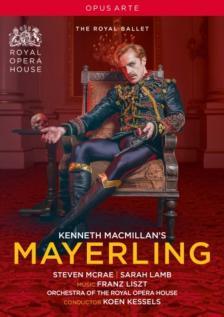 MACMILLAN - MAYERLING DVD STEVEN MCRAE, SARAH LAMB