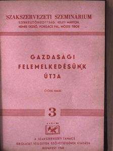 """Ádám György - """"11 kötet a Szakszervezeti Szeminárium című sorozatból (nem teljes sorozat)"""" [antikvár]"""