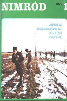 Nimród 1976. évfolyam (teljes) - számonként [antikvár]