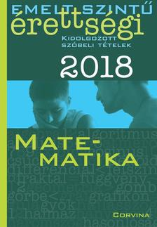 SIPOSS ANDRÁS - Emelt szintű érettségi - Matematika 2018 ***