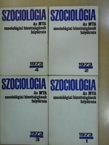 Bognár László - Szociológia 1973/1-4. [antikvár]