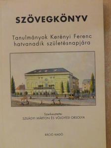 Botka Ferenc - Szövegkönyv [antikvár]