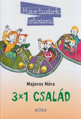 Majoros Nóra - 3X1 család - Már tudok olvasni
