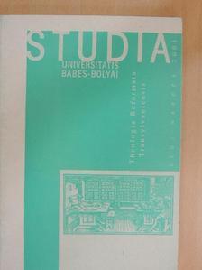 Adorjáni Zoltán - Studia Universitatis Babes-Bolyai, Theologia Reformata Transylvaniensis 2001/1. [antikvár]