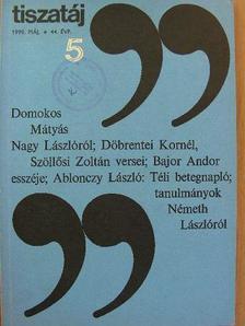 Ablonczy László - Tiszatáj 1990. május [antikvár]