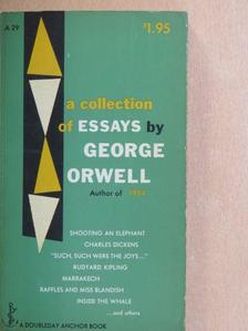 George Orwell - A Collection of Essays [antikvár]