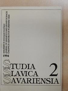 Bozsena Antonyak - Studia Slavica Savariensia 1994./2 [antikvár]