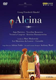 Handel - ALCINA 2DVD (LIVE) HARTEROS, KASAROVA, MINKOWSKI
