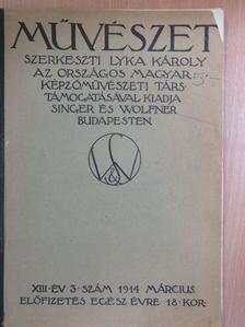 Bárdos Artur - Művészet 1914. március [antikvár]