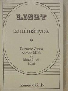 Dömötör Zsuzsa - Liszt tanulmányok (dedikált példány) [antikvár]
