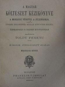 Toldy Ferenc - A magyar költészet kézikönyve IV. (töredék) [antikvár]