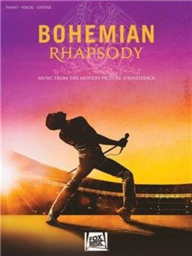 BOHEMIAN RHAPSODY PIANO VOCAL GUITAR MOVIE SOUNDTRACK