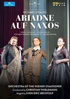 STRAUSS RICHARD - ARIADNE AUF NAXOS 2DVD (LIVE) ISOKOSKI, THIELEMANN