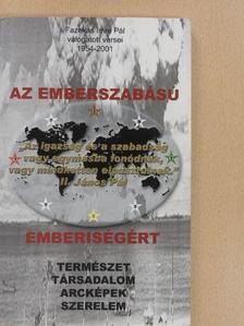 Fazekas Imre Pál - Az emberszabású emberiségért [antikvár]