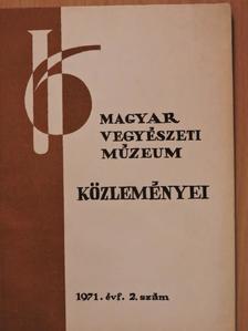 Holló János - Magyar Vegyészeti Múzeum közleményei 1971/2. [antikvár]