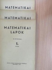 Alpár László - Matematikai Lapok 1955/1-4. [antikvár]