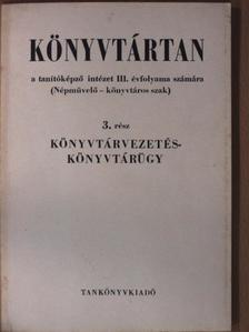 Sallai István - Könyvtártan 3. [antikvár]