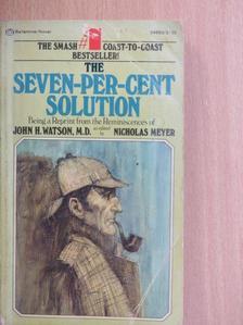Nicholas Meyer - The Seven-per-cent Solution [antikvár]