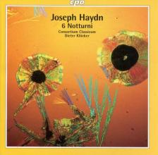 HAYDN J. - 6 NOTTURNI CD