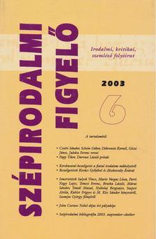 L. Simon László - Szépirodalmi Figyelő 2003/6 [antikvár]