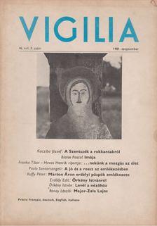Hegyi Béla - Vigilia 1981 46. évf. 9. szám [antikvár]