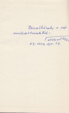 Tollas Tibor - Irgalmas fák (dedikált) [antikvár]