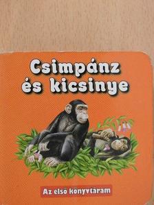 Csimpánz és kicsinye (minikönyv) [antikvár]