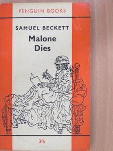 Samuel Beckett - Malone Dies [antikvár]