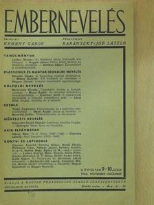 Angyal János - Embernevelés 1946. november-december [antikvár]