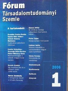 András Károly - Fórum Társadalomtudományi Szemle 2006/1-4. [antikvár]