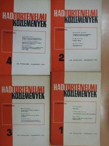 Denisz Davüdov - Hadtörténelmi Közlemények 1973/1-4. [antikvár]