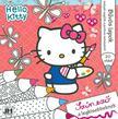 Hello Kitty - csillám színezõ 20x20