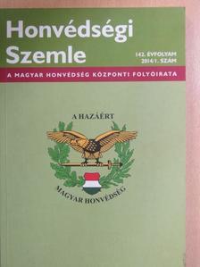 Isaszegi János - Honvédségi Szemle 2014/1. [antikvár]