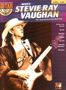 STEVIE RAY VAUGHAN (MORE) PLAY 7 SONGS WITH GUITAR PLAY-ALONG VOL.140