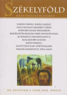Ferenczes István - Székelyföld 2008. április [antikvár]